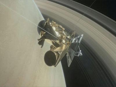 رسم افتراضي نشرته وكالة ناسا للمسبار كاسيني