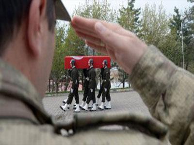 وفاة جندي تركي متأثرا بإصابته جنوب شرقي البلاد