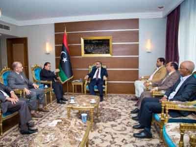 رئيس المجلس الأعلى للدولة يلتقي وفدًا من الهيئة الوطنية للمصالحة