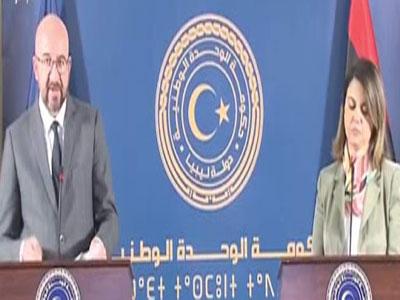 المنقوش: تؤكد أن استراتيجية حكومة الوحدة الوطنية واضحة وجادة تجاه مغادرة المرتزقة الأجانب الأراضي الليبية فورا