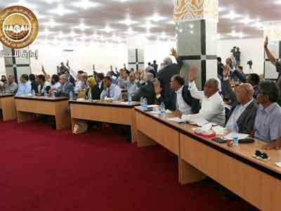 البرلمان يطالب الرئاسي بتقديم تشكيلة وزارية مصغرة في غضون 10أيام