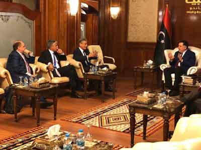 رئيس المجلس الرئاسي يستقبل نائب رئيس البنك الدولي