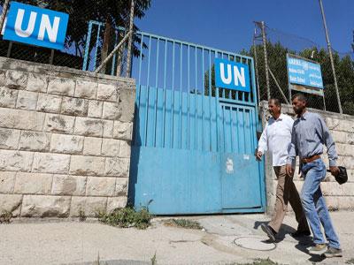 الفلسطينيون يخشون عدم فتح الأمم المتحدة المدارس في موعدها