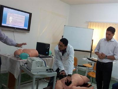 الدورة التدريبية في مجال الانعاش المبدئي( BLS)