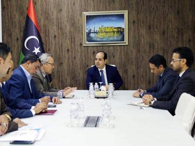 النائب معيتيق يلتقي رئيس مجلس إدارة الهيئة العامة للمناطق الصناعية