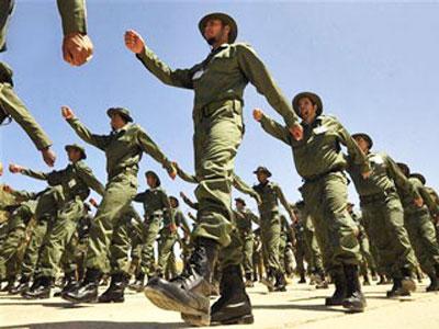 تخريج الدفعة من ضباط الجيش الليبي