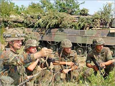 القوات الاالمانية