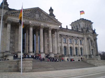 مبني البرلمان الألماني