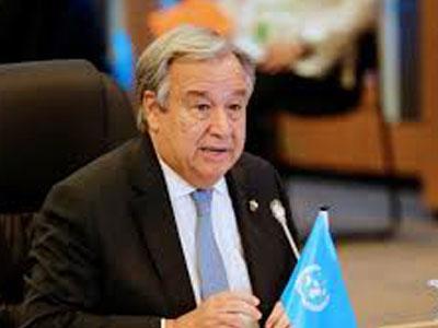 الامين العام للامم المتحدة يدعو الى توحيد مؤسستي الجيش والشرطة في ليبيا