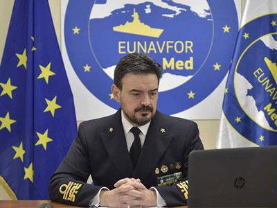 قائد عملية إيريني: قدمنا للأمم المتحدة 18 تقريرا بشأن حظر السلاح المفروض على ليبيا