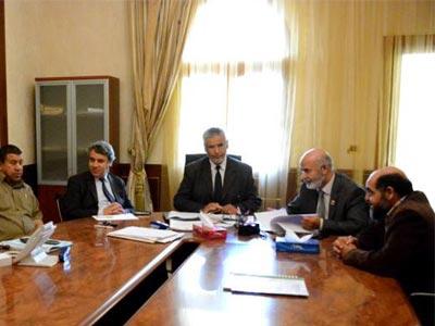 وزير الداخلية يقدم تقريراً مفصلا للجنة الداخلية بالمؤتمر الوطني العام