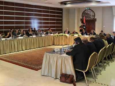إجتماع بطرابلس للجنة السياسات العليا لتعزيز الشراكة الدولية من أجل ليبيا