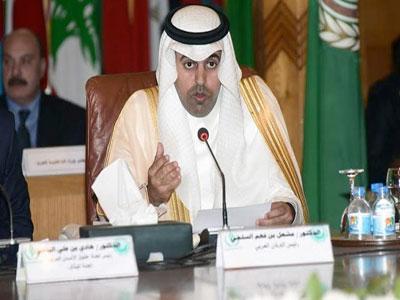 رئيس البرلمان العربي مشعل السلمي