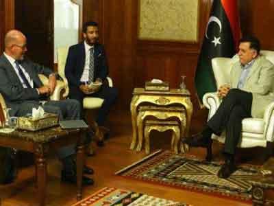 السراج والسفير الهولندي يبحثان المستجدات على الساحة الليبية