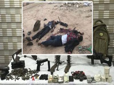 مقتل 11 ارهابيا في تبادل لاطلاق النار مع قوات الأمن بالعريش المصرية