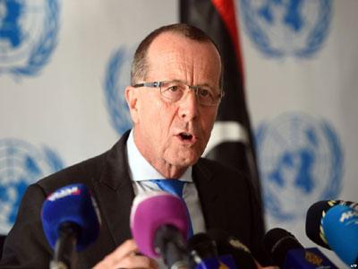مبعوث الأمين العام للأمم المتحدة في ليبيا مارتن كوبلر