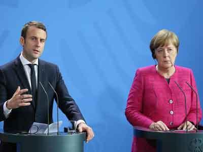ميركل تلتقي ماكرون لتمهيد الطريق لحزمة إصلاحات أوروبية مشتركة