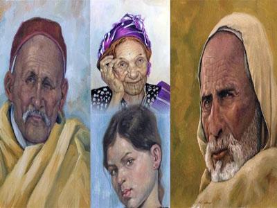 محمود الحاسي من أهم الفنانيين التشكيليين في الساحة الليبية