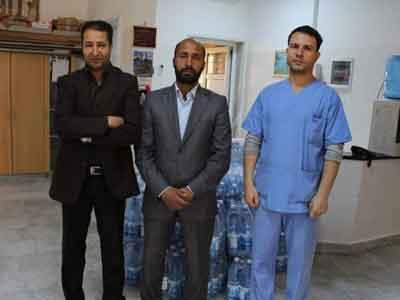 مركز الغسيل الكلوي في ترهونة يناقش مشكلاته مع رئيس اتحاد منظمات المجتمع المدني