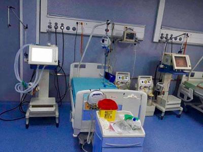 مستشفى طرابلس المركزي يشغل وحدات العناية