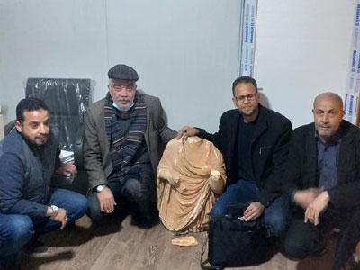 مصلحة الآثار الليبية تستعيد قطعا أثرية مسروقة