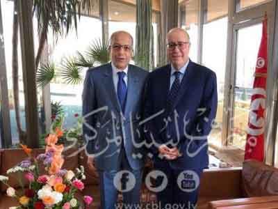 الكبير يلتقي محافظ البنك المركزي التونسي