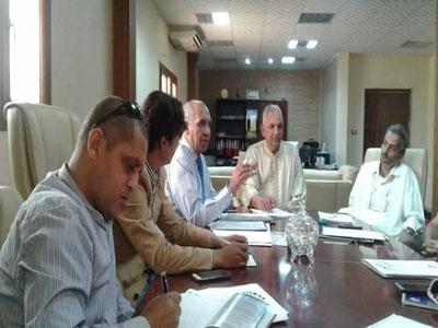 اللجنة العلمية العليا لإعداد المناهج التدريبية الإعلامية و الصحفية تعقد إجتماعها الأول