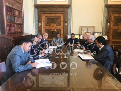 اجتماع مُوسَّع بمصرف ليبيا المركزي