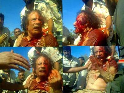 الذكرى الثالثة لنهاية طاغية العصر معمر القذافي