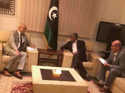 وكيل وزارة الخارجية للشئون السياسية يلتقى السفير التركي بليبيا