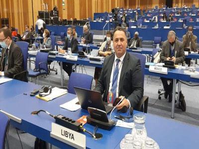 انتخاب ليبيا نائبًا لرئيس المؤتمر العام للوكالة الدولية للطاقة الذرية عن القارة الأفريقية